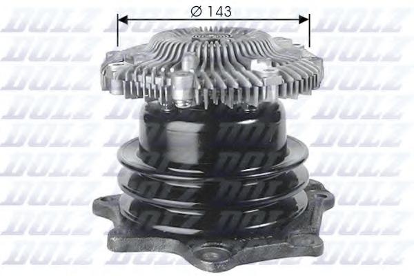 Vattenpump - NISSAN PICKUP KINGCAB (D21) - Varuosad