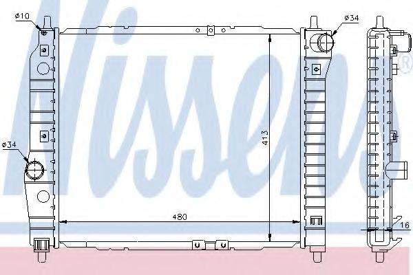 Prime Radiator Engine Cooling Nissens 61636 For Daewoo Kalos Klas T200 Wiring Digital Resources Talizslowmaporg