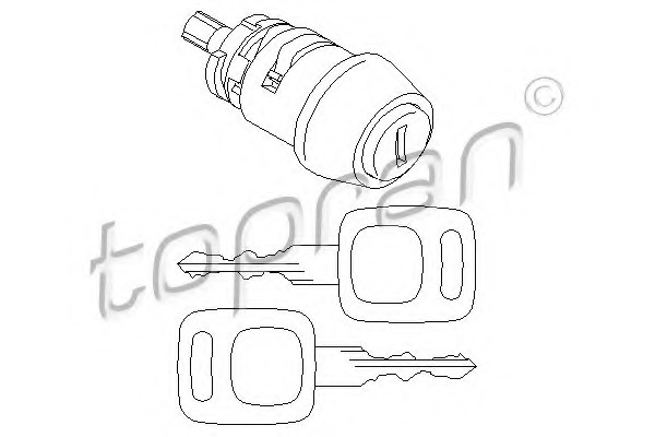 Steering Column Lock Cylinder