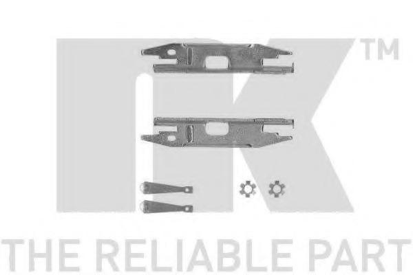 Vijak za podesavanje, dobos-kocnica NK 424702 za VW GOLF IV (1J) (HB + ESTATE) - alvadi.rs