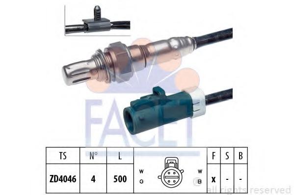 NEW 4-WIRE OXYGEN SENSOR-MOTORCRAFT# DY-878; FORD# YL8Z-9F472-AA YL84-9F472-AE