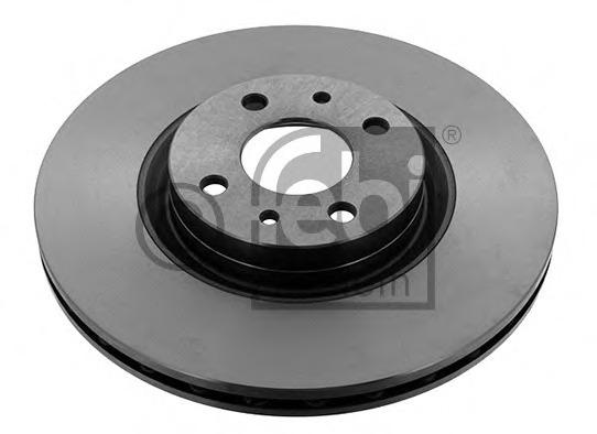 QH BDC3766 Front Axle Internally Vented Brake Disc