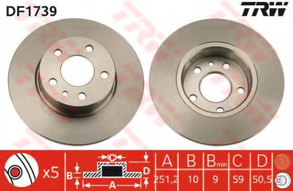 Brembo 08.3126.24 Brake DISCS Pair