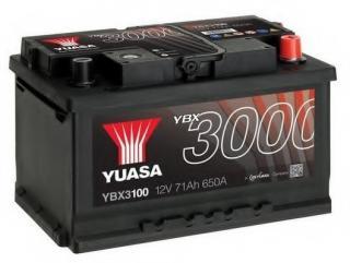 Startera akumulatoru baterija