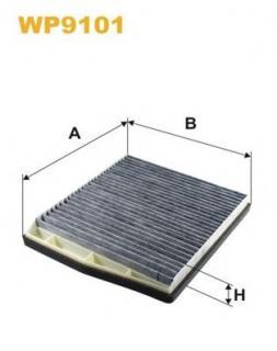 5412600 UFI Active Carbon Filter Interior Air Cabin Filter 30630754,30676413