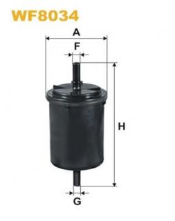 Mann Hummel OE Quality Replacement Fuel Filter WK 6031