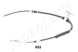 parking brake Japko 131K03 Cable