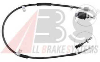 Fits Hyundai Coupe 2002-2009 Gk Rear Handbrake Cable Right 1425 1280mm