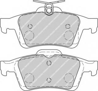 NEW FERODO SET OF REAR BRAKE PADS FOR FORD C-MAX FDB1931