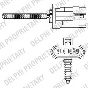Lambdasonde OPEL VAUXALL DELPHI ES10791-12B1