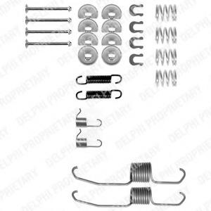 Ly1106 Accessory Kit brake shoes Rear Axle
