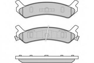 Rear Genuine Hyundai 58201-33A00 Disc Brake Pad Kit