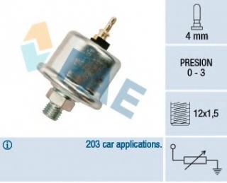 Original new oil pressure sender unit OEM A0065429417