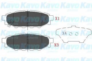 Herth+Buss Jakoparts J3617003 Brake Pad Set Disc Brake