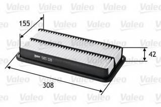 Blue Print ADT32281 Filtro de Aire