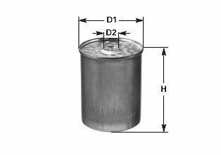 DN222 FUEL FILTER CLEAN FILTER FILTER INSERT, SCREW-ON F