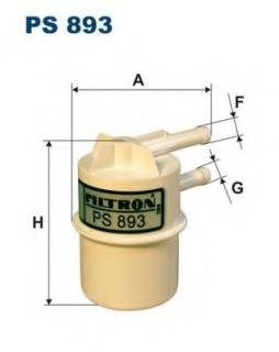 fuel filter filtron ps893