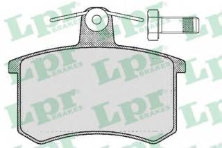 Bromsbeläggssats, skivbroms LPR 05P215
