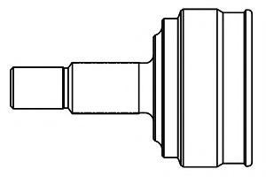 Kavo CV-6535 Joint Kit drive shaft