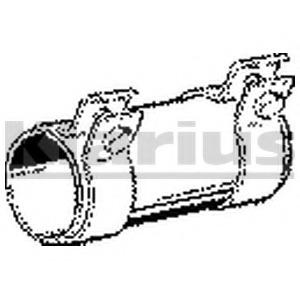 TOPRAN Pipe Connector exhaust system 102 754