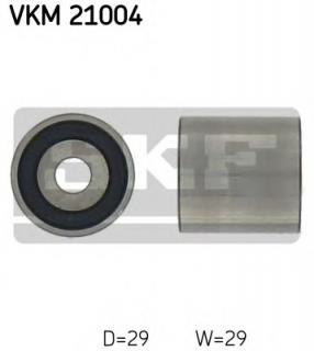 Deflection/Guide Pulley, timing belt SKF VKM 21004