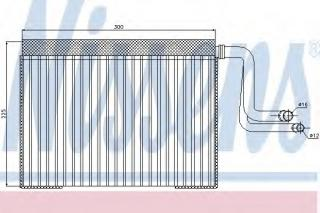 Evaporator, air conditioning