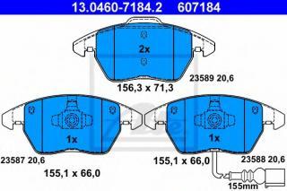 ATE 13.0470-7184.2 Brake Pads