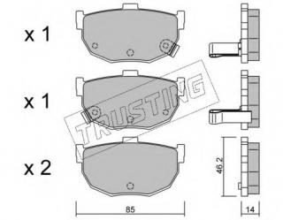 TRUSTING 681/ /0/Brake Pads