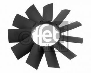 Крыльчатка вентилятора, охлаждение двигателя