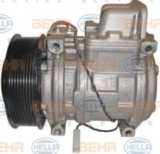 AC compressor for MERCEDES-BENZ ACTROS MP2 / MP3 4141 K 300kW Diesel
