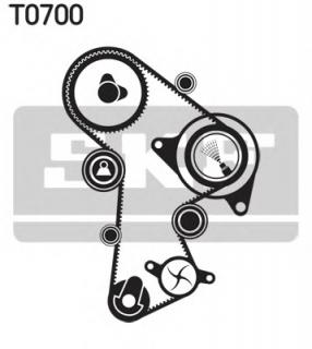 SKF VKMC 01263-1 Timing belt and water pump kit