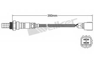 OZA669-EE49 NGK95698 O2 Sensor NTK Lambda Sensor