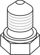 Febi Bilstein 12281 N 902 889 01 14 X 11 X 1.5 mm Engine Oil Drain Plug