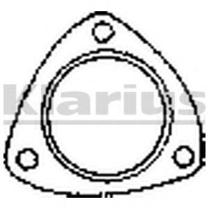 FA1 330-910 Gasket exhaust pipe