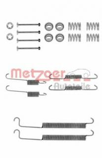 MBA756 MINTEX Accessory Kit brake shoes rear