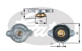 MotoRad T-64 Radiator Cap
