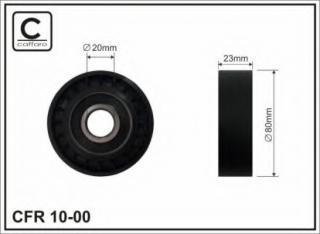 Deflection/Guide Pulley, v-ribbed belt