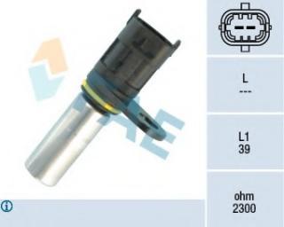 Sensor, crankshaft pulse