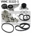 Water Pump + V-Ribbed Belt Kit