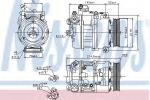 Ilmastoinnin kompressori