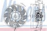 Ventilator, motorkøling
