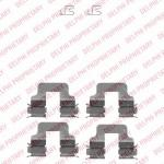 Accessory Kit, disc brake pads